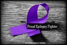Proud Epilepsy Fighter